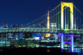 Tokyo skyline at night — Stock Photo