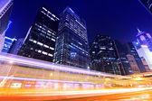 Traffic trafic with Hong Kong — Stock Photo