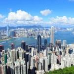 Hong kong şehir — Stok fotoğraf