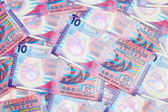 Ten dollar Hong Kong banknote — Stock Photo
