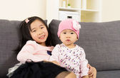 Asia sisterhood — Stock Photo