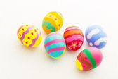 Beautiful pattern easter eggs — Photo