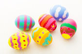 Pinted colourful easter eggs — Stockfoto
