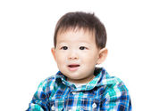 Asian baby boy feeling excited — 图库照片