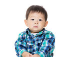 Asian baby boy portarit — Stock Photo