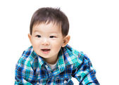 Asian baby boy feeling excited — Stock Photo