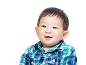 Asia baby boy smile — Stock Photo