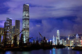 Kowloon side in Hong Kong — Stock Photo