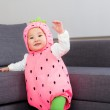 Halloween party dressing baby girl — Stock Photo #44003039