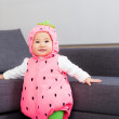 Baby girl with halloween party dressing — Stock Photo #44003045