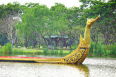 Dragon boat in Thailand — Stockfoto
