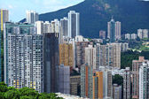 Hong Kong residential district — Stockfoto