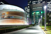 Government headquarter in Hong Kong at night — Stockfoto