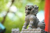 Guardian Lion Statue — Stock Photo