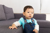 Baby boy at home  — Stock Photo