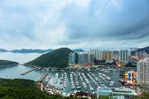 Typhoon shelter in Hong Kong  — Stock Photo