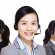 Customer services team — Stock Photo #46846339