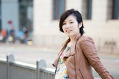 Mature Asian woman — Stock Photo