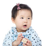 Little baby girl — Stock Photo