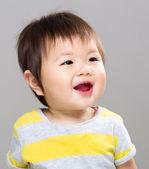 Sonrisa de bebé niña — Foto de Stock