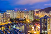 Aberdeen typhoon shelter in Hong Kong  — Stock fotografie