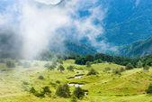 Wuling mountain at Taiwan — Stock Photo