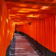 Fushimi Inari Taisha Shrine in Kyoto city — Stock Photo #47285121