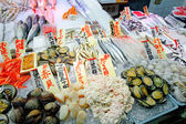 Fish market japanese food — Stock Photo