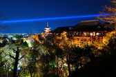 Kiyomizu temple at night — Stock fotografie