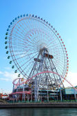 Ferris wheel in Yokohama — Stock Photo
