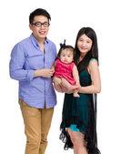Família asiática — Fotografia Stock