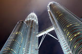 Twin tower in KLCC — Stock Photo