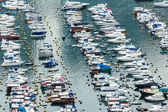 Aberdeen typhoon shelter in Hong Kong  — Stock Photo