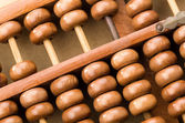 Chinese abacus — Stock Photo