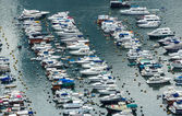 Aberdeen typhoon shelter — Stock Photo