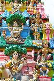 Hinduistický chrám v singapuru — Stock fotografie