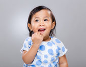 Little girl portrait — Foto Stock