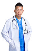 Doctor hombre asiático — Foto de Stock
