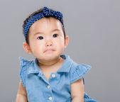 Bebek kız portre — Stok fotoğraf