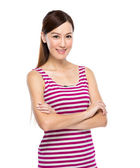Asian Woman with casual wear — Stock Photo