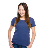 Indonesian mixed race young woman — Stock Photo