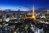 Tokyo night — Stock Photo