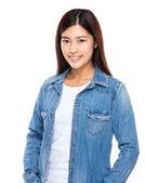 Asiatiska vacker kvinna — Stockfoto