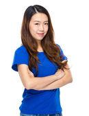 Mulher jovem asiática — Fotografia Stock