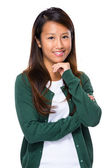 Singaporean young woman — Stock Photo