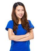 亚洲女人的微笑 — 图库照片