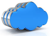 Cloud-computing-symbol — Stockfoto