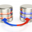 Database backup icon — Stock Photo