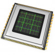 Computer chip with diagram — Stock Photo #18303157