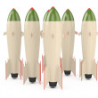 Royalty-Free Stock Photo: Nuclear missiles